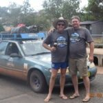 Brian Ballintine and Gavin Gilbert. Riverina Redneck Rally 2017