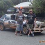 Matt Brame and Rod Bellman. Riverina Redneck Rally 2017