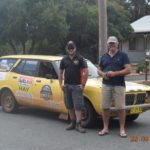 William and Ken Butcher. Riverina Redneck Rally 2017