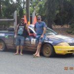 Darren Crutch and Brad Ewing. Riverina Redneck Rally 2017