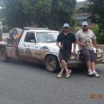 Ben Reardon and Daniel Wood. Riverina Redneck Rally 2017