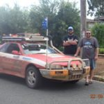 Peter Carruthers and Brian Bugh Riverina Redneck Rally 2017